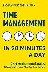Buy Time Management in 20 minutes a day book