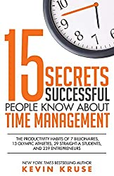 Buy 15 secrets successful people know about time management book